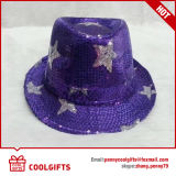 A mistura colore o chapéu de palha de papel novo com fita (CG202)