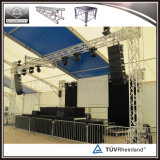 Etapa móvil de la etapa de la plataforma del partido del diseño movible de la etapa para el acontecimiento