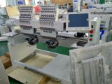 9 12 15針2ヘッド1000rpm高速コンピュータ化された刺繍機械