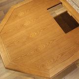 La dernière table moderne en bois massif pour meubles de salon CH-618