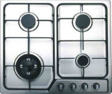 Tipo de cristal de 4 hornillas construido en estufa de gas/avellanador del gas/cocina de gas