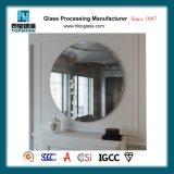 Zette de Hete Verkoop Eenvoudige Ontworpen Decoratieve Framless van Amerika om Muur Zilveren Spiegel voor de Levering van de Badkamers op