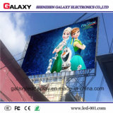 Pantalla de visualización video al aire libre de pared de P8/P10/P16 SMD LED para Adveritising