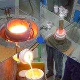 중국에서 전자 유도 전기로 기계를 녹는 소형 금
