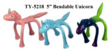 Juguete Bendable del unicornio divertido caliente