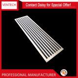 El equipo de ventilación lineal de aluminio difusor de la ranura