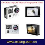 WiFi спорта действий камеры 4k 30fps 170 градусов Sport