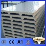 """panneau """"sandwich"""" des matériaux de toiture d'épaisseur de 50mm EPS/PU pour des plafonds"""