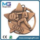 カスタマイズされた昇進の金属のフットボールメダル