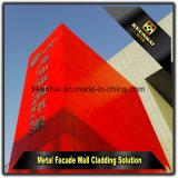 Панель искусствоа декоративная алюминиевая для зданий