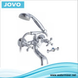 新しいデザイン倍のハンドルの浴槽Jv74201