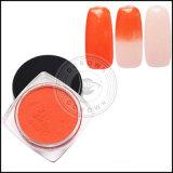 Градиента искусствоа ногтя Manicure яркия блеска ногтя пигмента Ocrown Blingbling пыль порошка зеркала температуры изменения цвета Thermochromic термально
