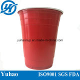 Rotes Cup/PS Plastikcup des Partei-Cup-/kaltes trinkendes PS-Cup