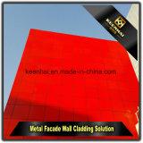 Parete divisoria di alluminio decorativa di arte per le costruzioni