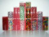 De duidelijke Cilinders van de Buizen van het Suikergoed van pvc Plastic voor Pakket