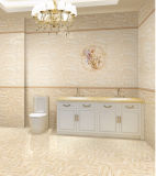 azulejo interior rústico esmaltado 6D-Inkjet de la pared de la porcelana para el cuarto de baño (004)