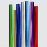 レーザーの熱伝達のファブリックおよび衣服によってカスタマイズされるカラーのための熱い押すホイルのコーディングのリボン