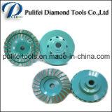 とらわれの金属は具体的な床のための使用のダイヤモンドの粉砕車輪をぬらした