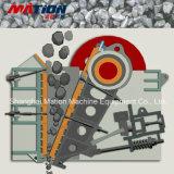 Китайское изготовление дробилки дробилки челюсти каменной, утеса задавливая машину