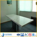 Панель сота белого мрамора камня цвета алюминиевая для кухни