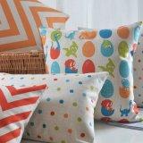 Cuscini di base decorativi di tela del cotone economico per i sofà che decorano
