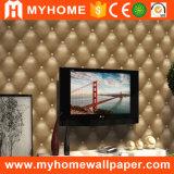 Papel de parede barato do PVC 3D da decoração da parede da sala de visitas de China