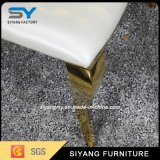 يتعشّى أثاث لازم عرس [شفري] كرسي تثبيت مع نوع ذهب فولاذ