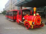 Treno elettrico facente un giro turistico del turista delle 62 sedi per la sosta o il ricorso