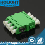 Vierling Groene Sm van de Adapter LC/APC van de vezel de Optische Geen Flens