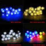 50 luces decorativas impermeables al aire libre de la luz solar de la cadena de la Navidad de la bola del LED Chuzzle para la celebración de días festivos del festival