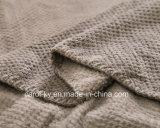 Cobertor acolhedor do Throw do PONTO do jacquard do teste padrão do luxuoso de várias cores de veludo ultra