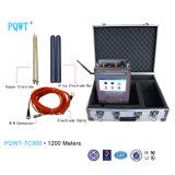 Superhightechwasser-Detektor vollautomatisches Pqwt-Tc900 für 1200 Meter Tiefbaudetektor-