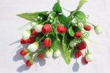 Fiori poco costosi di falsificazione del fiore artificiale per i grossisti domestici della decorazione di cerimonia nuziale