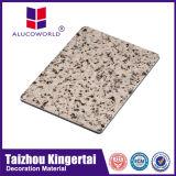 Cadena de producción compuesta de aluminio del panel de techo de Alucoworld con 4m m 3m m 5m m gruesos