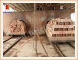 Auto Baksteen die Lopende band met de Oven van de Tunnel maken