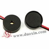avertisseur sonore piézo-électrique d'alarme de 10V 14mm avec deux fils