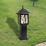 Haute luminosité LED en plastique de lumière solaire de jardin, la lumière solaire LED, capteur de mouvement de lumière solaire