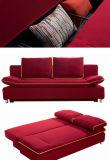 MordenデザインのスマートなMDFボックスソファーベッド