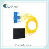 1: 8 de Optische Splitser van de vezel met de Schakelaars van Sc, Compatibel systeem FTTH Rack/ODF