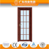 Waterproof Swing Aluminum Alloy Frame Toilet Bathroom Door