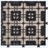 Giardino e mattonelle di ceramica di Decking di gelo esterno con due disegni