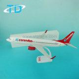 선전용 선물 항공기 모형으로 B737-800 Corendon 39.5cm