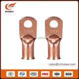 Cosse d'extrémité tubulaire modifiée de cuivre étanche de sertissage de câble de compactage de décollement