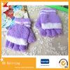 Luvas mágicas acrílicas customizadas de inverno coloridas para crianças