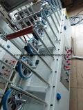 Lame de moulage intérieur laminé à profil en PVC Machine d'emballage décoratif pour le travail du bois