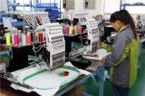 9 machine principale 400*450mm de la broderie automatisée par machine de broderie de pointeau 6 heureux