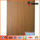 Mirada de madera ACP de Ideabond para la fábrica de Acm de la decoración interior (AE-305)