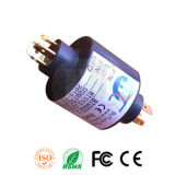 6 / 20A Slip Ring em Od 45mm, Gold Contacting, China Fabricante