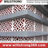 L'aluminium panneau mural PVDF revêtement extérieur