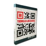 Nueva impresión modificada para requisitos particulares del libro de la foto del libro de Hardcover del diseño